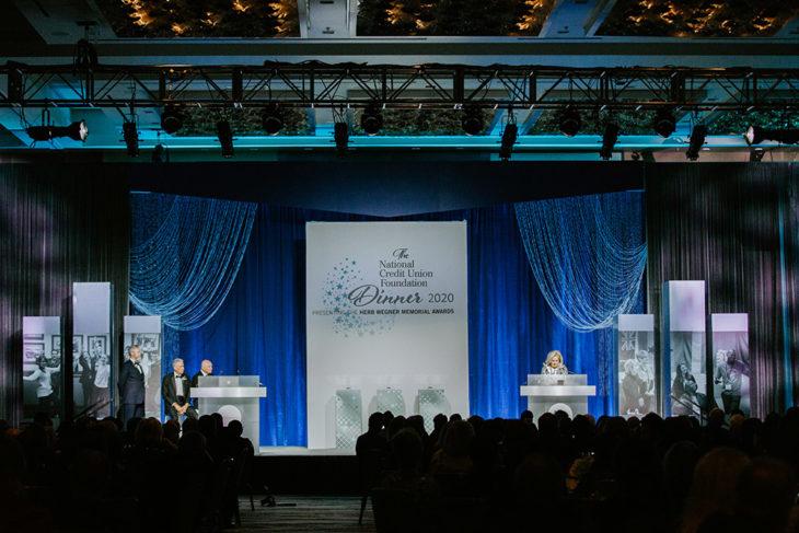 2020 Wegner Awards DInner room