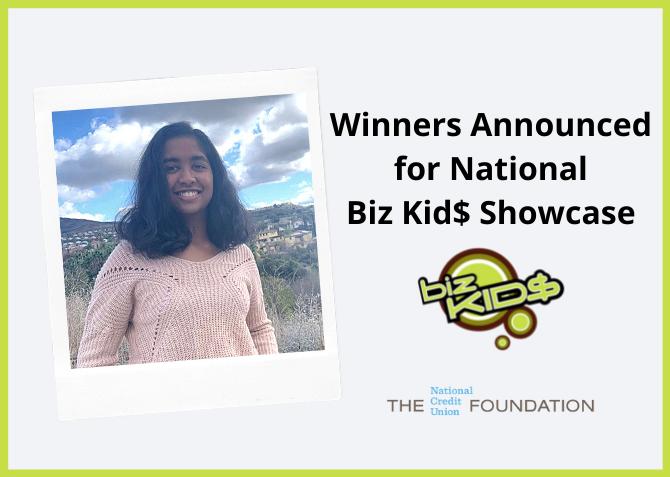 2021 Biz Kid$ Showcase Winners Announced