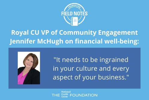 Jennifer McHugh on financial well-being