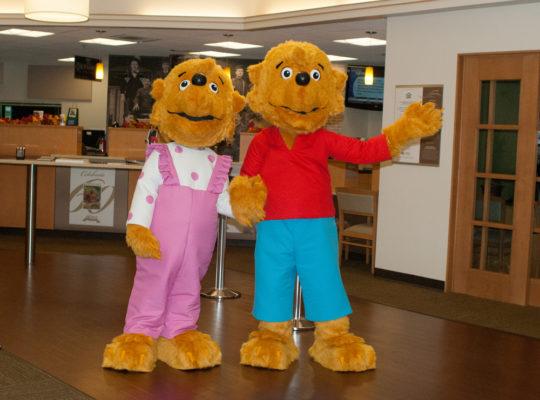 Berenstain Bears mascots