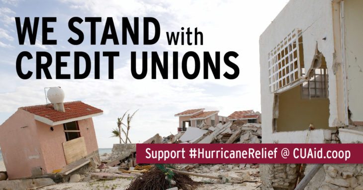 hurricane relief graphic