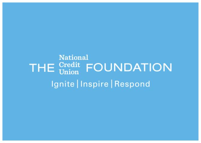 Foundation logo on light blue background