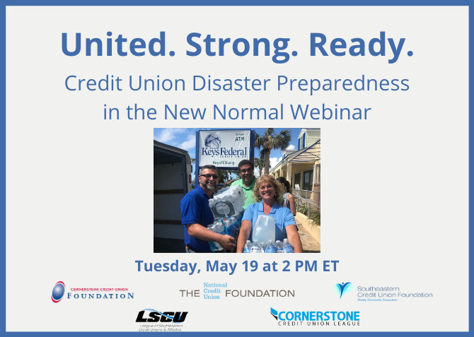 Credit Union Disaster Preparedness in the New Normal