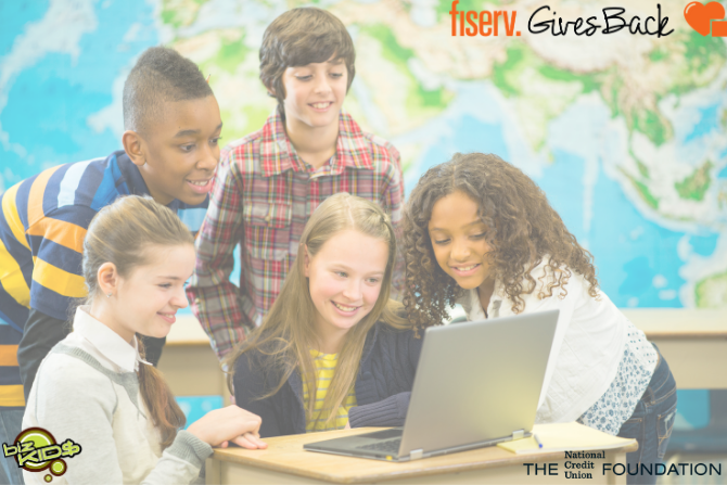 Fiserv Gives Back Biz Kids Competition