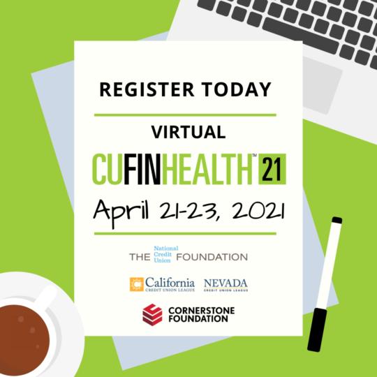 Register Today for CU FinHealth21