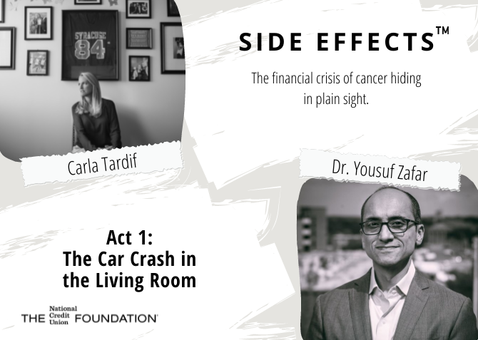 Side Effects Act 1 Blog with Carla Tardif and Dr.