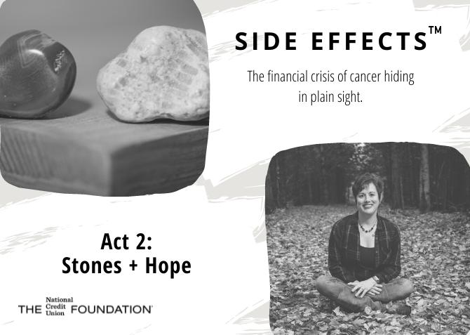 Side Effects Act 2 Blog Klara and rocks