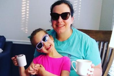 Tobi and her eldest daughter, Betty