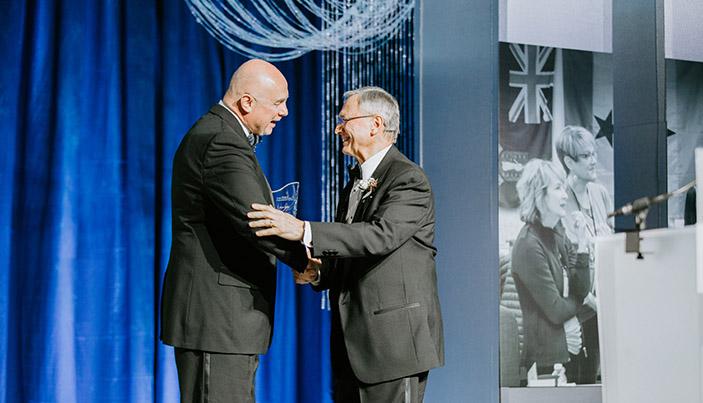 John Fiore, Wegner Award Winner