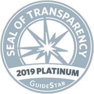 2019 platinum seal of transparency logo