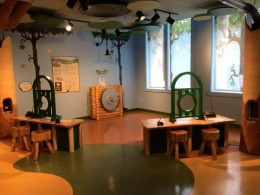 child area called Teller's Vault